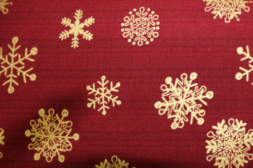 Magical Moments - red background & gold Christmas designs