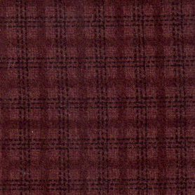 Wool & Needle Flannel - Small Aubagine check
