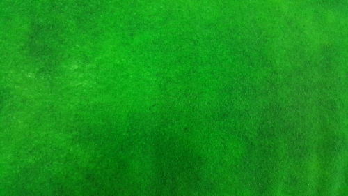 Suede Flannel - Bright green