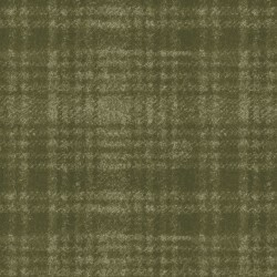 Woolies 2263 Flannel - Large green plaid
